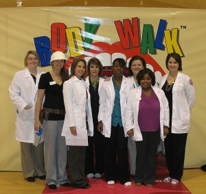 William Carey University School of Nursing students