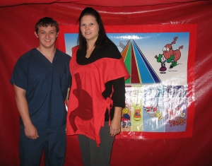 Allied Health and adult volunteer
