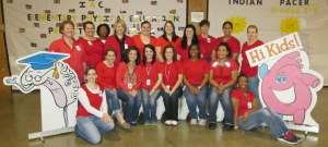 Nursing students from ICC.