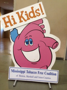 Working with the MS Tobacco Free Coalition